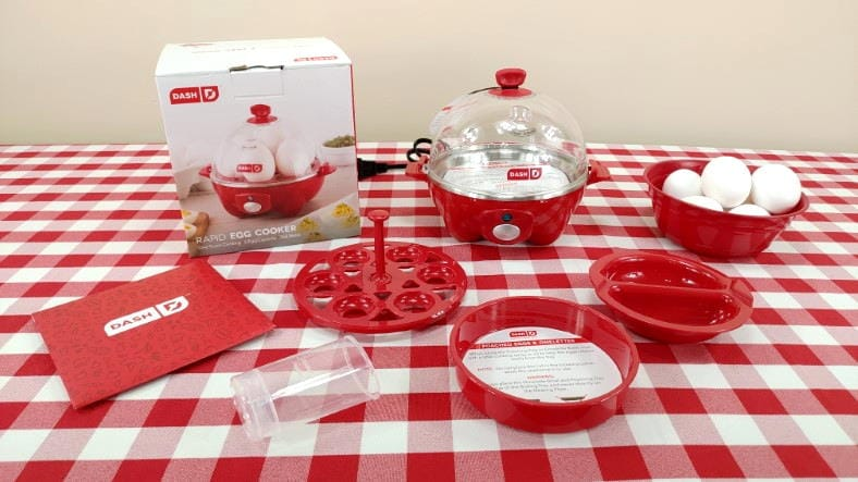 Dash Rapid Egg Cooker product review featured image