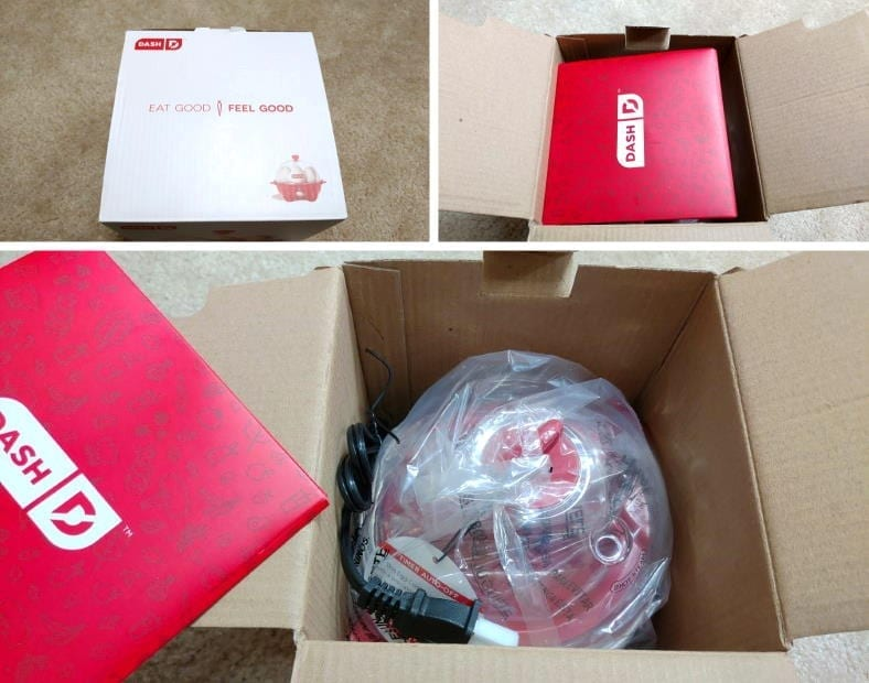 Unboxing the Dash Rapid Egg Cooker