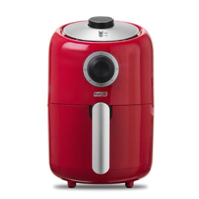 Dash Compact 1.2L air fryer red product image