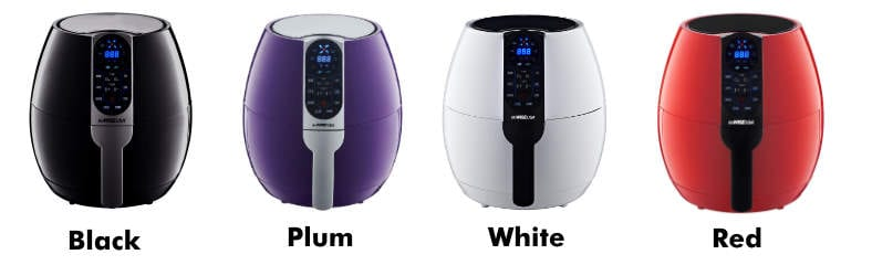 GoWise air fryer product colors example image