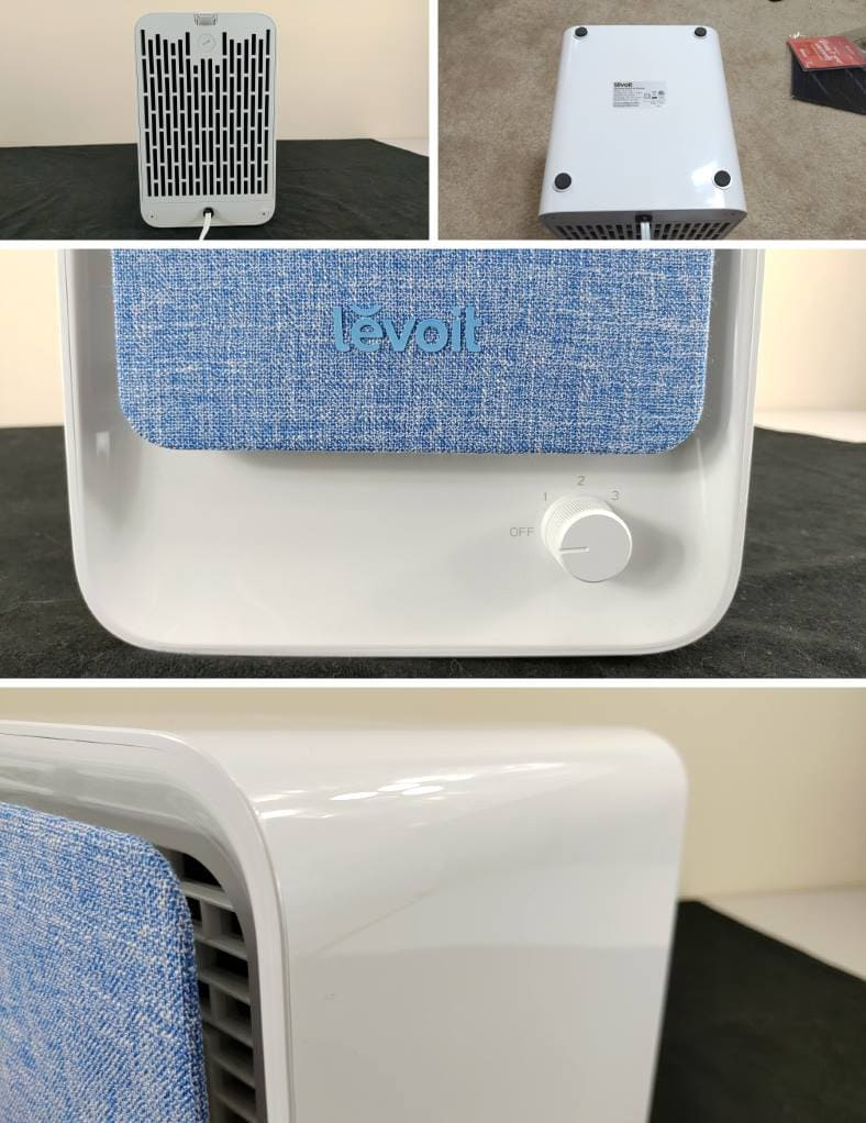 Levoit LV-H126 close up body images