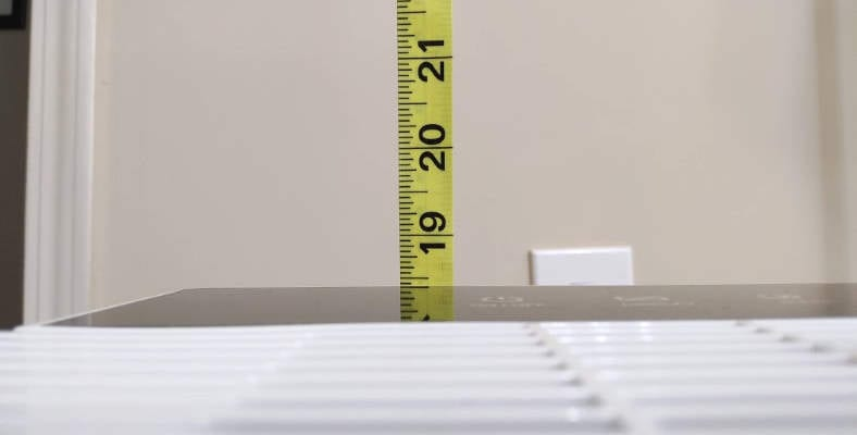 Levoit LV-PUR131 height measurement
