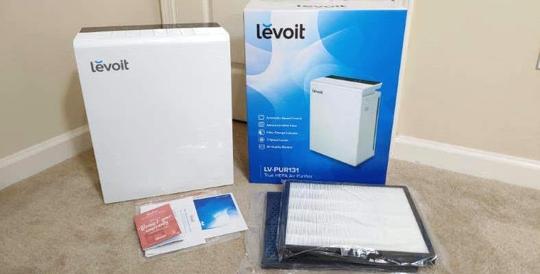 Levoit LV-PUR131 included items image