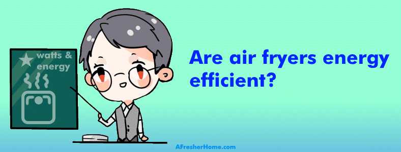 Teacher discussing are air fryers energy efficient topic