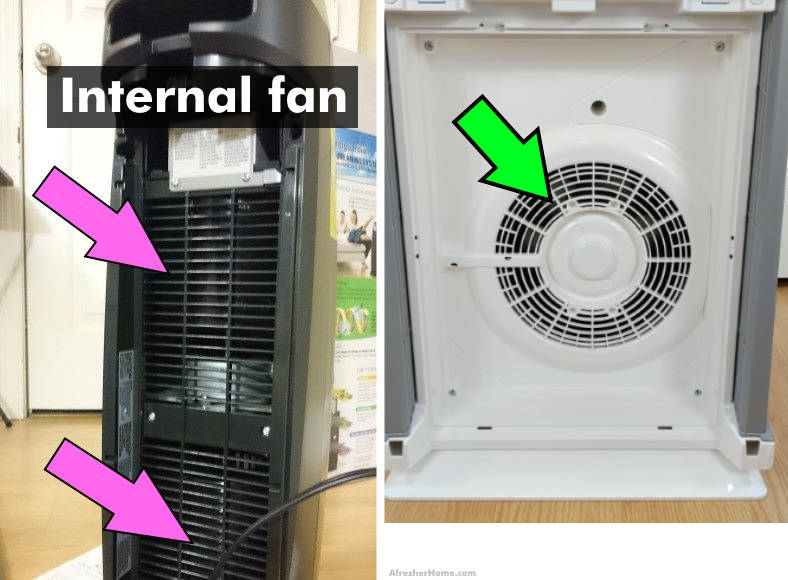 air purifier fan location examples image