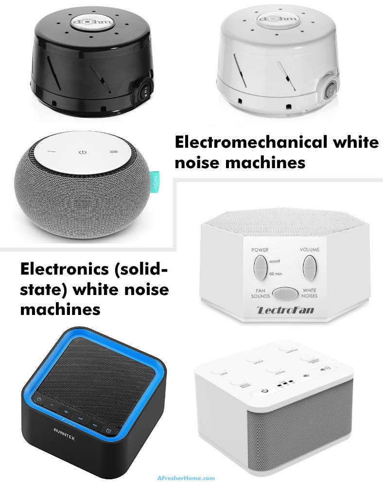what does a white noise machine look like examples image