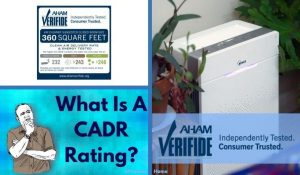 What is a CADR rating in air purifiers featured image