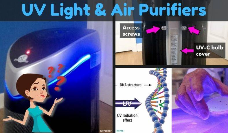 What does UV light do in air purifier featured image