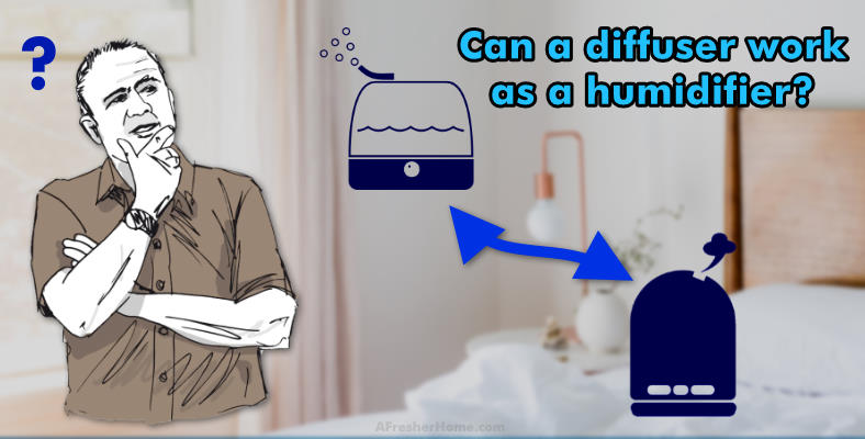 can you use a diffuser as a humidifier section image