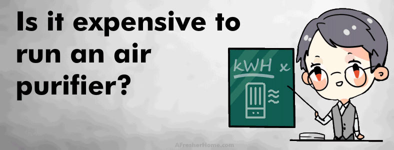 is it expensive to run an air purifier section image