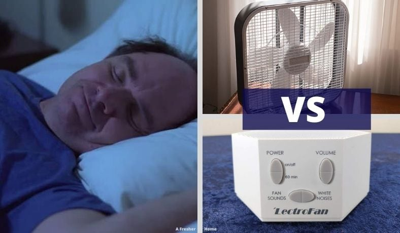 white noise machine vs fan white noise image