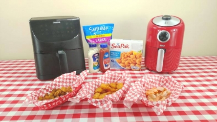 How To Cook Frozen Breaded & Raw Shrimp In An Air Fryer – It's So Easy!